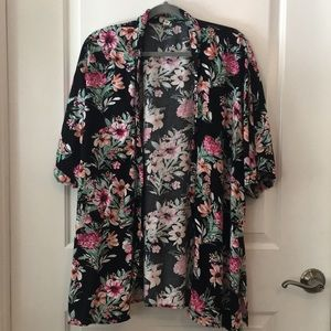Ripcurl floral cover-up